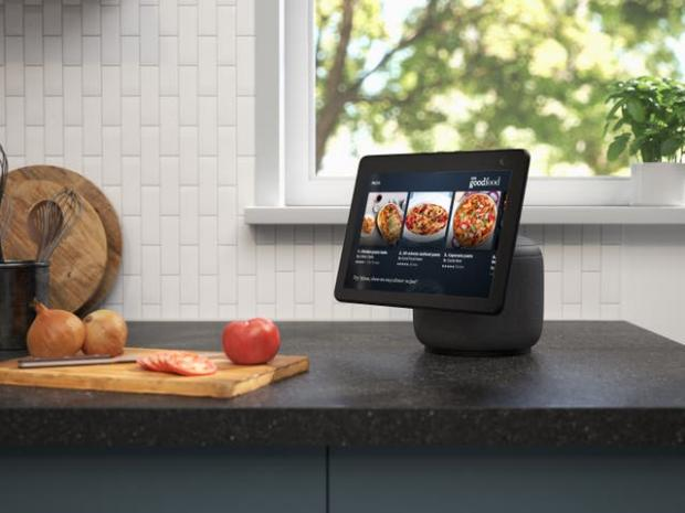 Swindon Advertiser: The new Echo Show screen can swivel to follow the user. Picture: Amazon