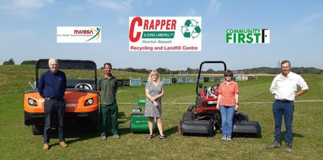 Crapper and Sons gives RWBSA a grant