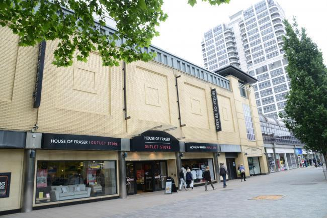House of Fraser saved from closure at the Brunel