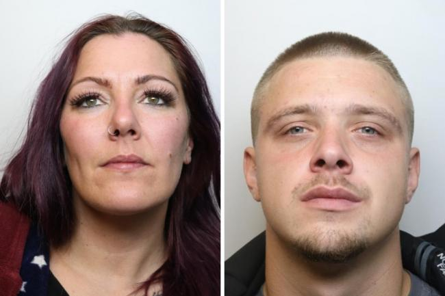 Sarah Scott and Kyle Menham Picture: WILTSHIRE POLICE