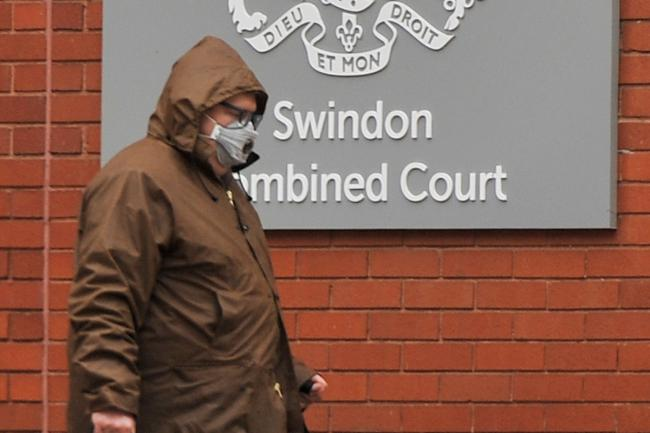 John Wood leaves Swindon Crown Court on Tuesday afternoon Picture: DAVE COX