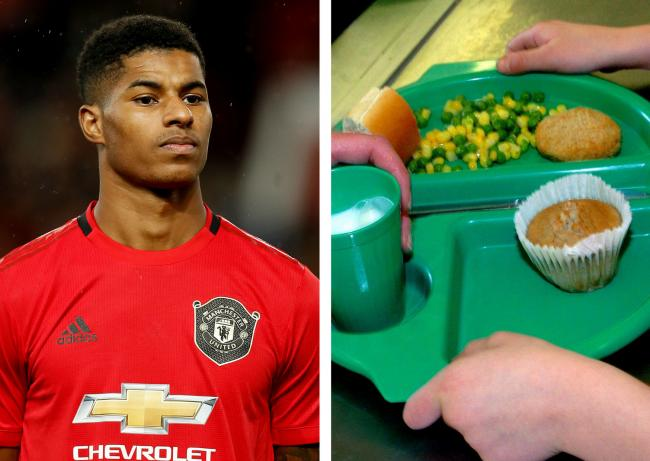 Marcus Rashford (picture: PA Wire) is highlighting businesses that are helping to feed children during the school holidays.