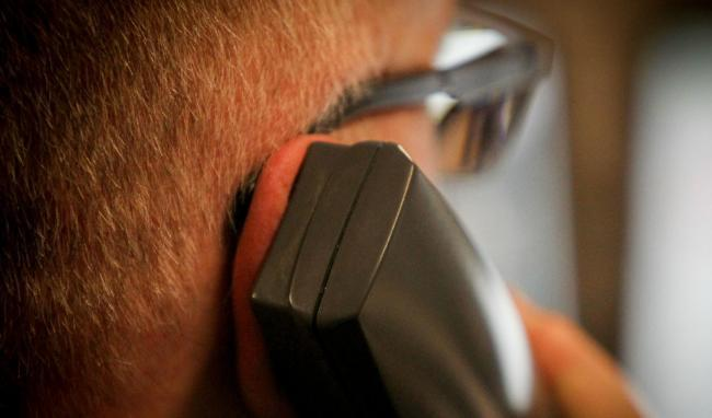 Scammers are calling elderly and vulnerable people and pretending to be police
