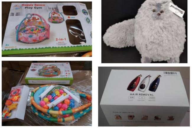 These are the latest items to be recalled by Wiltshire Trading Standards