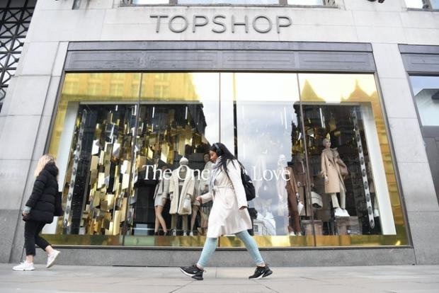 Swindon Advertiser: Arcadia Group runs the Topshop, Dorothy Perkins and Burton brands (Kirsty O'Connor/PA)
