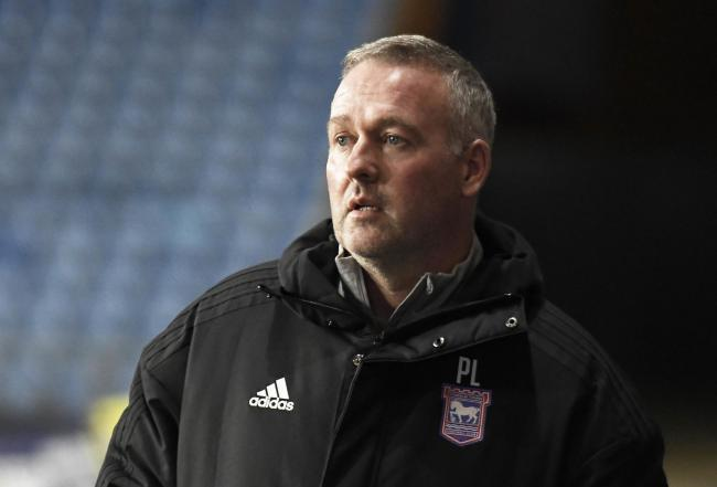 Ipswich Town boss Paul Lambert may not be in attendance on Saturday as he is reported to still be struggling with the after effects of Covid-19			  Photo: David Fleming