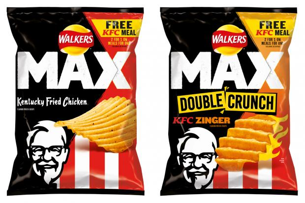 Swindon Advertiser: Walkers launch KFC flavoured crisps. (Walkers)