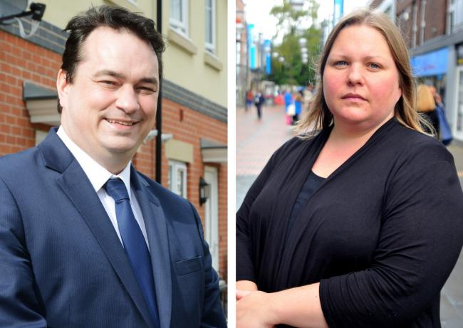 Oliver Donachie and Emma Faramarzi have formed the Independent Tories and will look to shift the balance of power in May's local elections