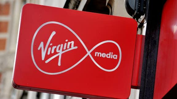 Virgin Media provide 14 free TV channels and data to customers during lockdown. (PA)