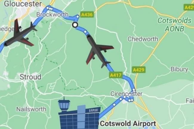 A Boeing 727 will be transported to Bristol from Cotswold Airport on Saturday
