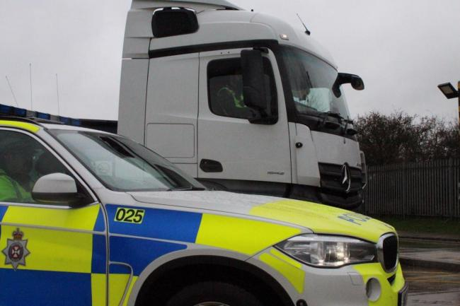 Driver caught speeding at 121mph on M4 by undercover police lorry