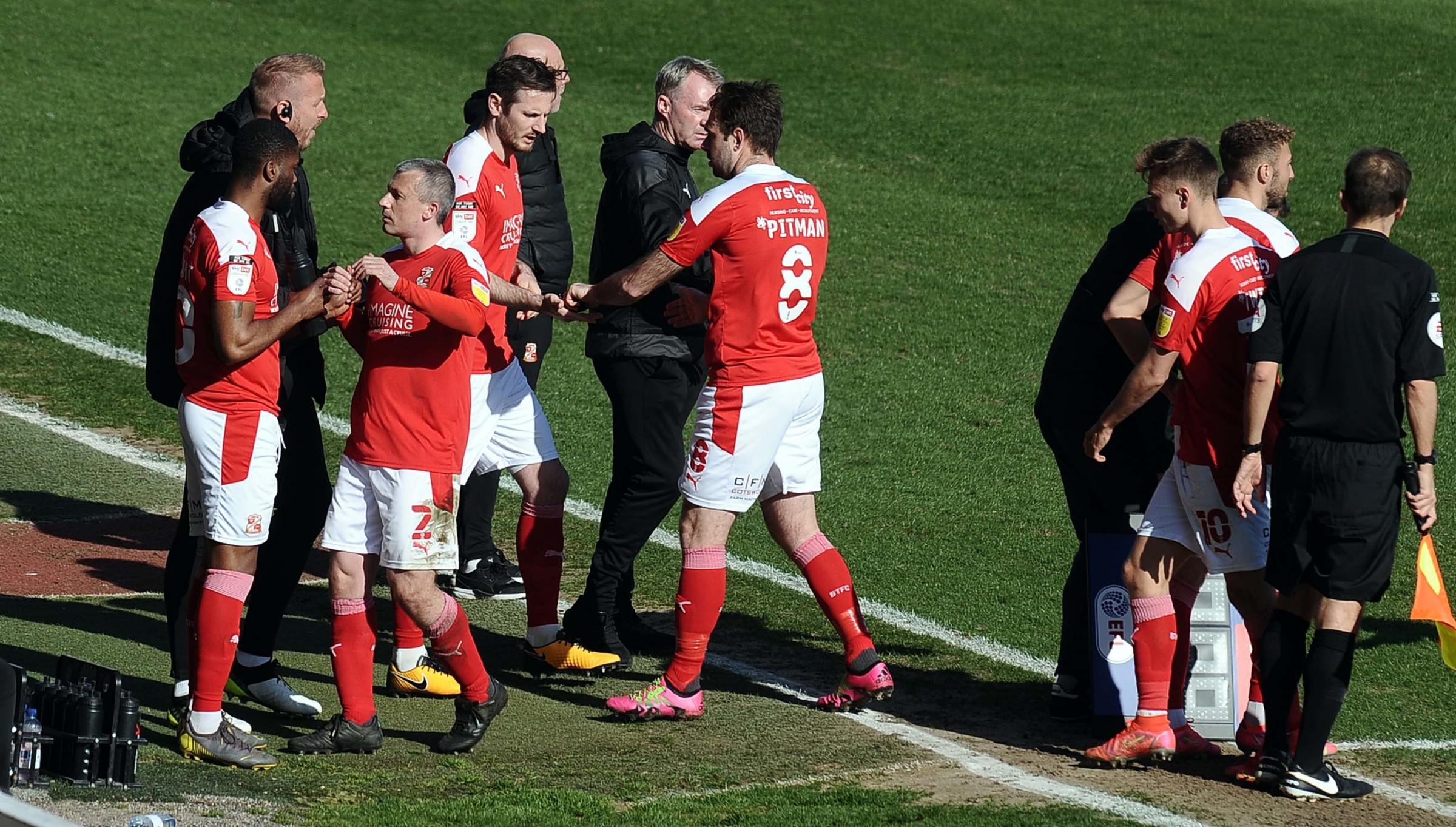 John Sheridan says late substitutions not why Swindon Town lost to Burton Albion