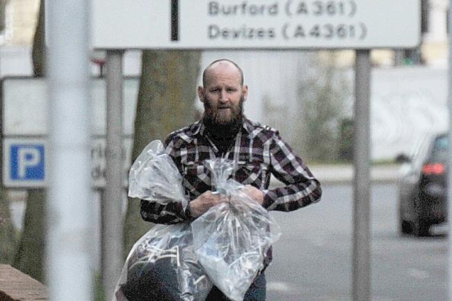 Bruce Thomas Wayne outside Swindon Magistrates' Court Picture: ADVER PHOTOGRAPHER