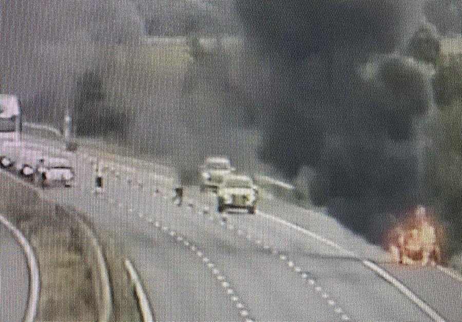 M4 now fully open following car fire
