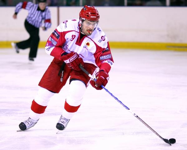 Swindon Wildcats captain Aaron Nell
