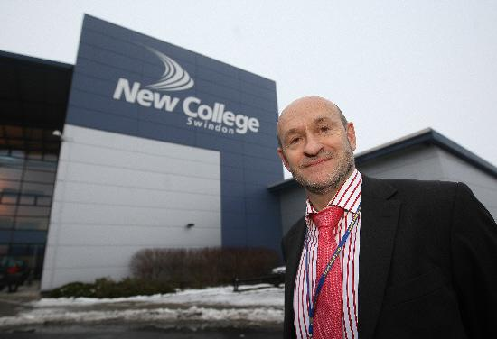 Swindon Advertiser: New College principal Graham Taylor