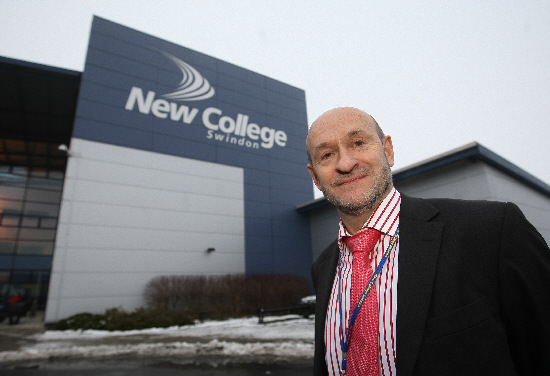 New College principal Graham Taylor