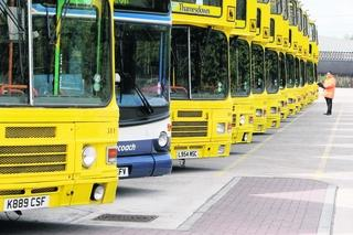 Passengers will have to get used to different bus routes