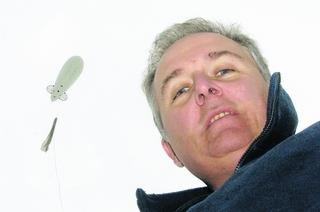 South Marston wind turbine protester Neil Burchell