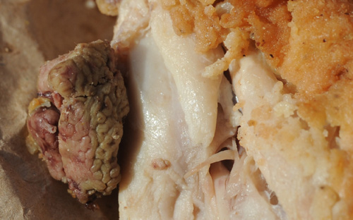 Man finds what he thought was a brain in his KFC