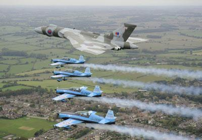 The Vulcan's final flight?