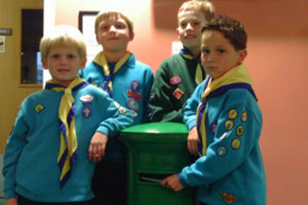 Swindon Scouts Christmas Post 2010