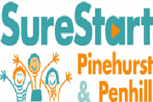 Activities held at the Sure Start Centre in Penhill