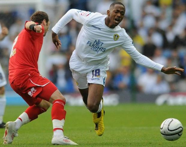 Sanchez Watt, right, has been cleared to play for Leeds against his parent club