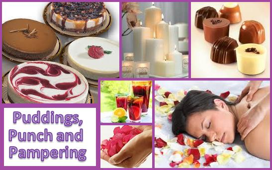 Puddings, Punch and Pampering