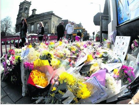 SIAN O'CALLAGHAN: Floral tributes removed