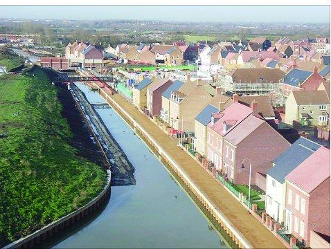 Canalside homes at Wichelstowe go on show