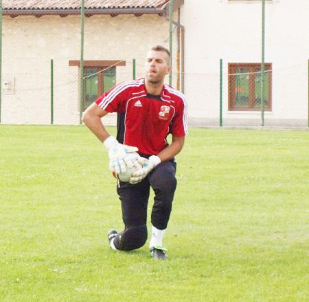 Goalkeeper Christian Paoletti
