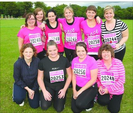 Swindon's Race For Life 2011
