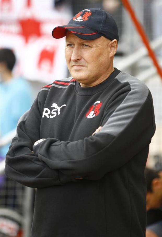 "Swindon Advertiser: Russell Slade believes the O's are playing without the ""fear factor."" Picture: Action Images"