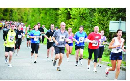 All the excitement of this year's Swindon Half Marathon