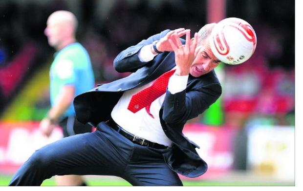 Swindon Advertiser: Di Canio is scoring no points with team fans