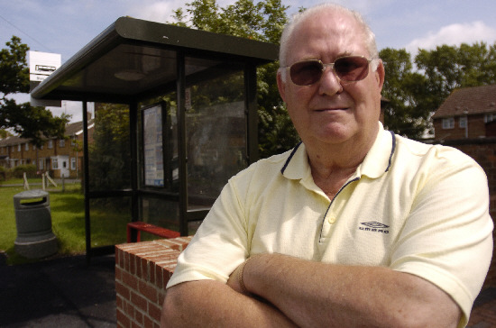 Walcot East resident Derek Horne has helped get up a petition opposing changes to the number 20 and 21 services