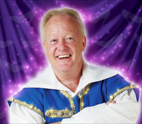 Keith Chegwin, who will be starring in the 2013 Wyvern pantomime