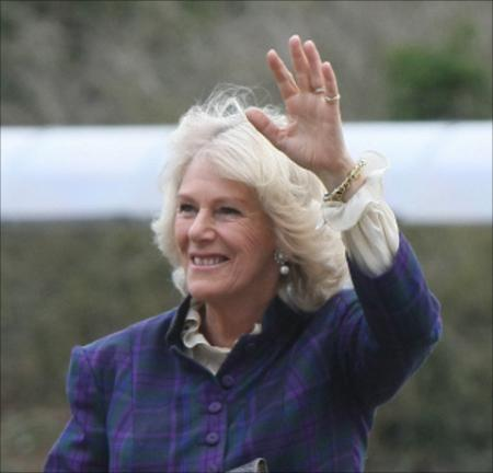 Camilla, Duchess of Cornwall, pays royal visit to Swindon