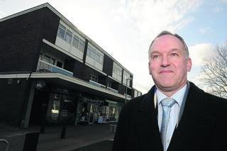 Council leader Rod Bluh is delighted the authority is set to invest £900,00 to improve six village centres, including Covingham