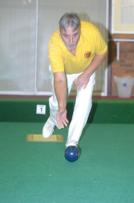 Ian Jefferies was runner-up at the Bournemouth Indoor Open Singles