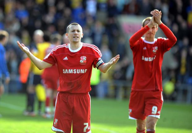 Swindon Town's Paul Caddis
