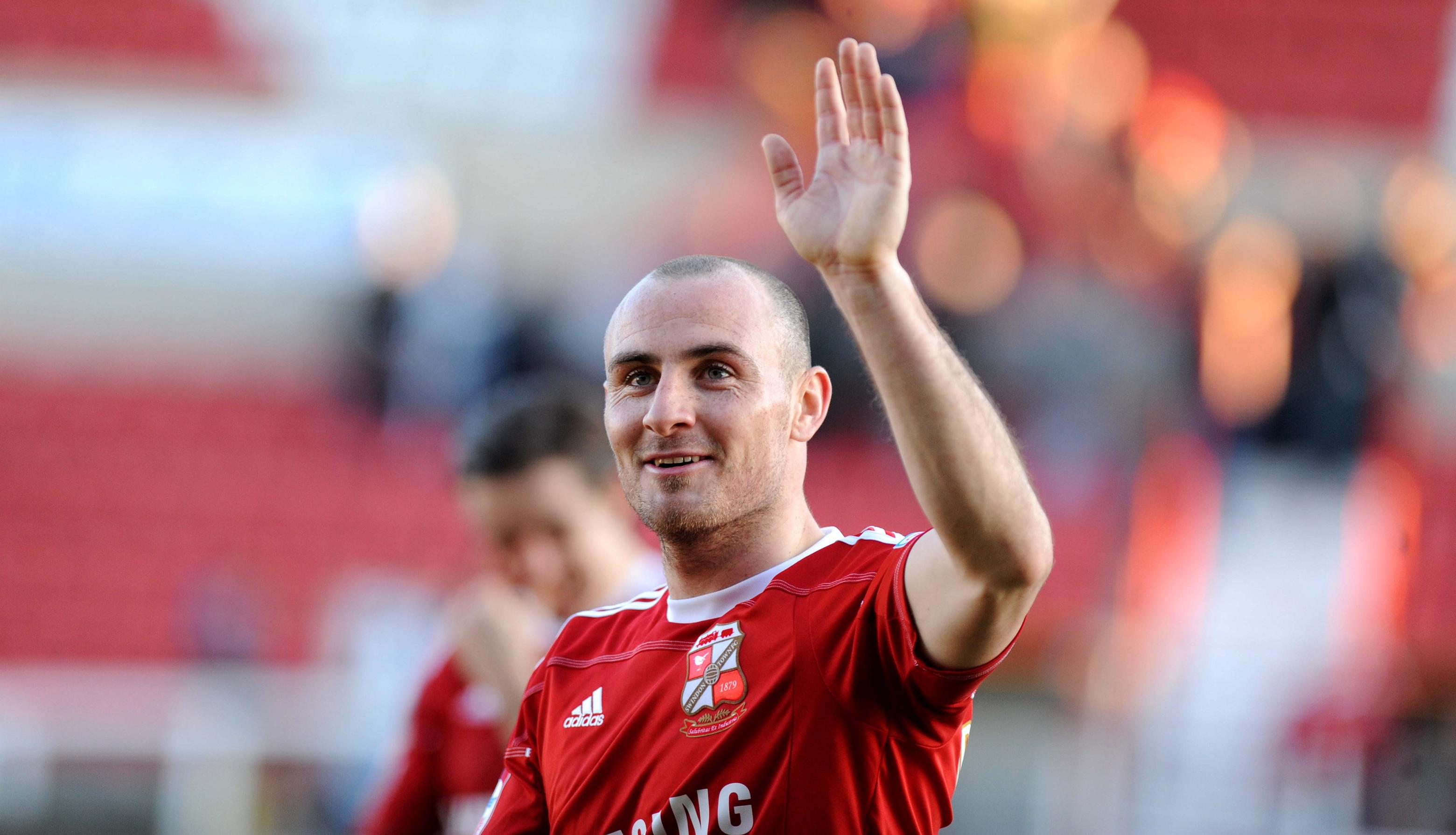 Outgoing Town midfielder Alan McCormack