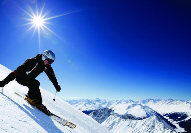 LOOK GOIOD FEEL GOOD: Be sure to ski safe
