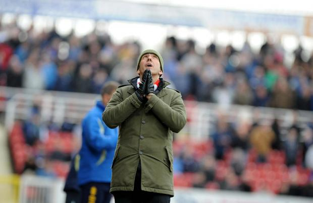 Town boss Paolo Di Canio prays for inspiration