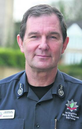 IN THE HOTSEAT: Chief fire officer Simon Routh-Jones answers your questi