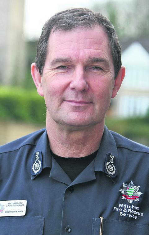 Swindon Advertiser: Wiltshire Chief Fire Officer Simon Routh-Jones