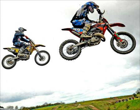 Kickstarting a day of thrilling Motocross action at the British Masters