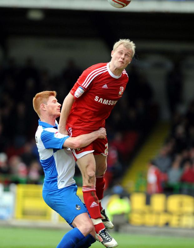 Swindon Town's Jay McEveley