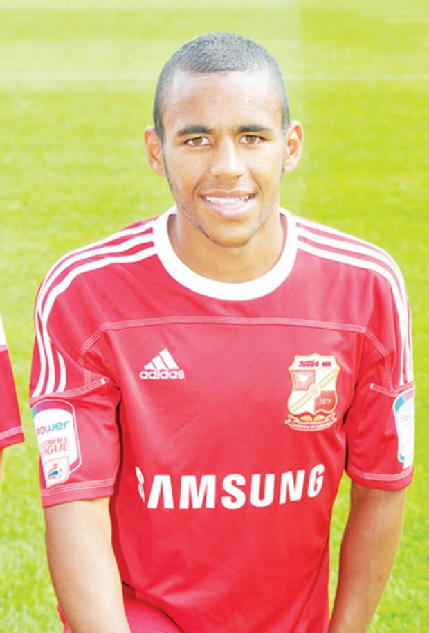 Swindon's Nathan Thompson